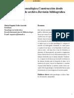 Uribe Acevedo - Revista PERGAMO El Árbol Genealógico
