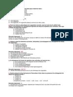 QCM Hématologie (Résidanat en Poche)