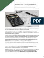 Contabilul.manager.ro-deductibilitatea Cheltuielilor Auto Cum Se Procedeaza in 2019