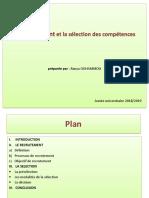 0_Le Recrutement Et La Sélection Des Compétences