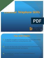 Td 9 Essential Telephone Skills