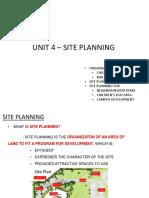 UNIT 4 - SITE PLANNING.pdf