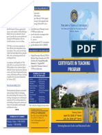 Certificate in Teaching Programs 2016 (2)