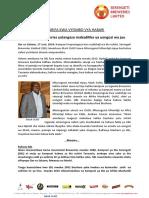 Press Release - SBL Leadership Changes - SWA