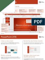 0695 Powerpoint 2016 Guide de Demarrage Rapide