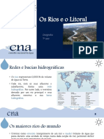 Geografia 7º Ano - Os Rios e o Litoral