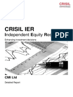 Crisil Report on CMI Limited