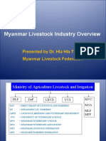 Myanmar Livestock Industry Overview Dr Hla Hla Thein Dr Thet Myanmar