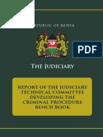 Kenya Committee Report - Benchbook