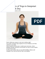 Yoga to Your Day