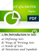 Sets and Subsets