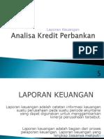 Analisa Kredit Perbankan - 2 (Analisa Laporan Keuangan - Rasio)
