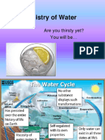 Chemistry of Water-1