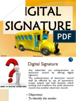 Digital Signature & Electronic Governance