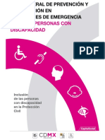 Guia de Emergencia Para Personas Con Discapacidad