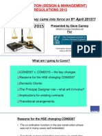 CDM-2015-CIBSE-Talk