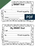 My Smart Goal Form 0