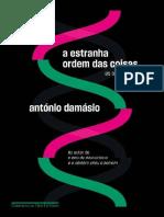 António Damásio a Estranha Ordem Das Coisas