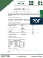 Excel Aula 02