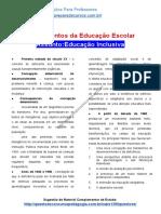 SÍNTESE EDUCAÇÃO INCLUSIVA