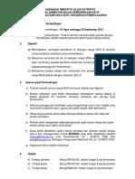 211520460 CHECKLIST Persiapan Majlis Mesyuarat Agung PIBG