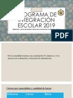 Programa de Integración Escolar 2019 (1)
