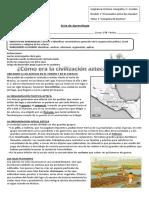 guía aztecas 5°B