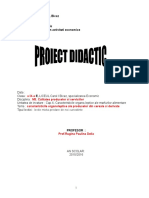 proiect lectie - caracteristici organoleptice.doc