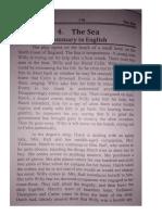 The Sea Summary