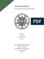 Perhitungan Parallax Pada Foto Udara