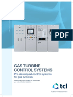 Control Systems Gas Turbine