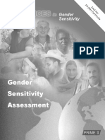 Gender Sensitivity Assessment Tool