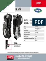 Motor Diesel Antor 4LD820