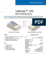 Trafficote 105 Self Leveling Slurry (Esp)