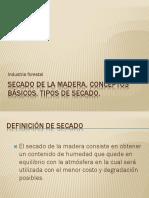 Secado de La Madera, Conceptos Básicos