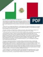 Historia y Significado de La Bandera Mexicana