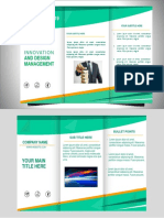 Brochure sample for business