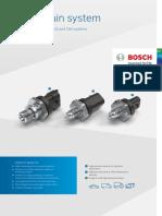 Product Data Sheet High Pressure Sensor