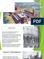 La Arquitectura Paleocristiana y Bizantina