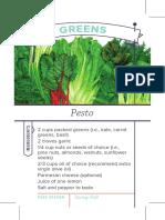 Greens Recipe