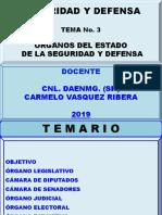 Diapositivas 03-19 Seg y Def Organos Del Estado