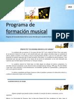 Programa de Formacion Musical