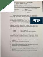 Surat Peserta RS Pemerintah