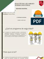El Programa de Seguridad