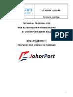 UC AFSAM Technical Proposal for Johor Port
