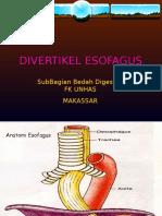 DIVERTIKEL ESOFAGUS.ppt