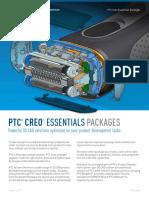 PTC Creo Essentials Packages