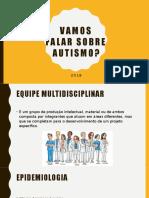 Vamos Falar Sobre Autismo