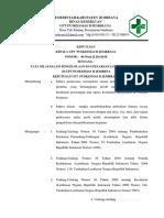 SK Aturan Tata Nilai Dan Budaya Dalam Pelaksanaan UKM Puskesmas