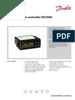 Danfoss Programmable Controller Mcx06c